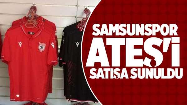 Samsunsporun 2019 yeni sezon formaları
