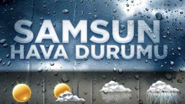 4 Eylül Çarşamba Samsun ve ilçeleri hava durumu