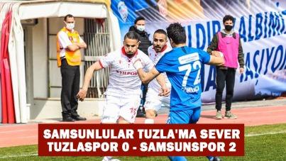 SAMSUNLULAR TUZLA'MA SEVER TUZLASPOR 0 - SAMSUNSPOR 2