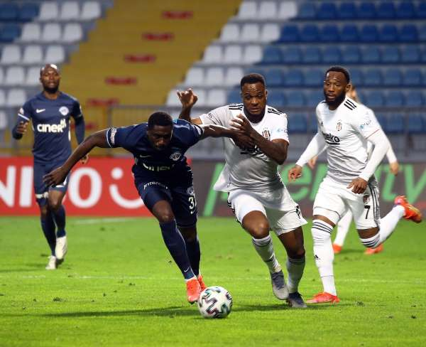 Beşiktaş, Kasımpaşa deplasmanında son 7 maçta da gol yedi