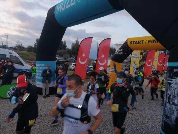 Heraklia Antik Kentinde Latmos Ultra Maraton Koşusu yapıldı