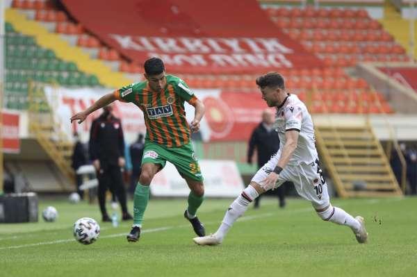 Süper Lig: Aytemiz Alanyaspor: 1 - Gençlerbirliği: 1