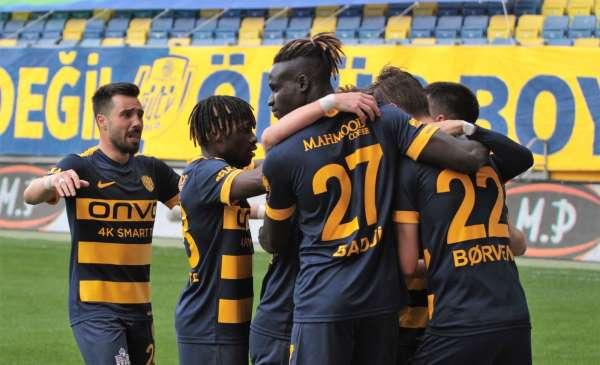 Süper Lig: MKE Ankaragücü: 1 - Fraport Tav Antalyaspor: 0