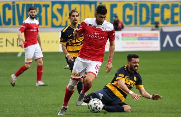 Süper Lig: MKE Ankaragücü:0 Fraport Tav Antalyaspor:0