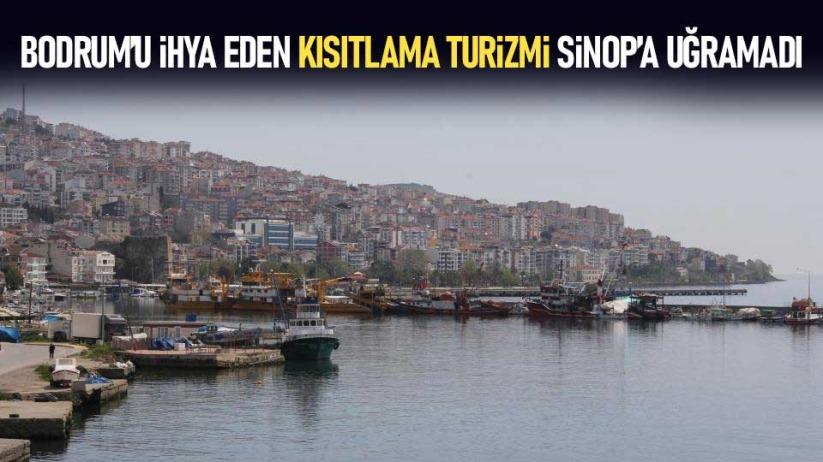 Bodrumu ihya eden kısıtlama turizmi Sinopa uğramadı
