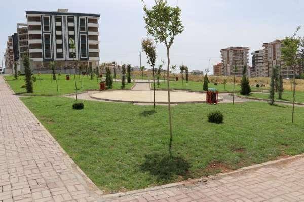 Karaköprüye yeni parklar kazandırılıyor