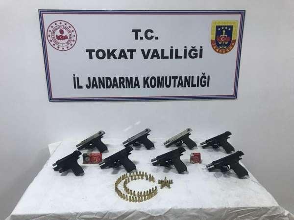 Tokatta silah kaçakçılığı operasyonunda bir şüpheli gözaltına alındı