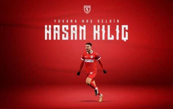 Samsunspor Hasan Kılıç ile sözleşme imzaladı