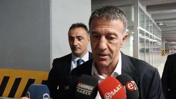 Ahmet Ağaoğlu: 'Canını dişine takarak mücadele eden bir takımımız var'