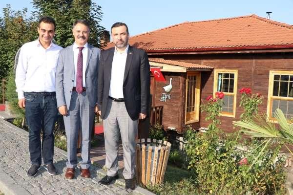 Başkan Deveci, Sarıcaoğlu ile birlikte Kavak'ı gezdi