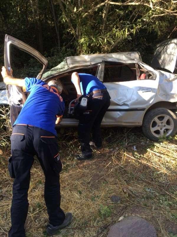 Elazığ'da trafik kazası: 1'i ağır 5 yaralı