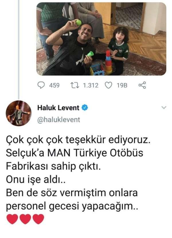 Haluk Levent, hasta çocuğun babasını işe alan firmanın personeline konser verece