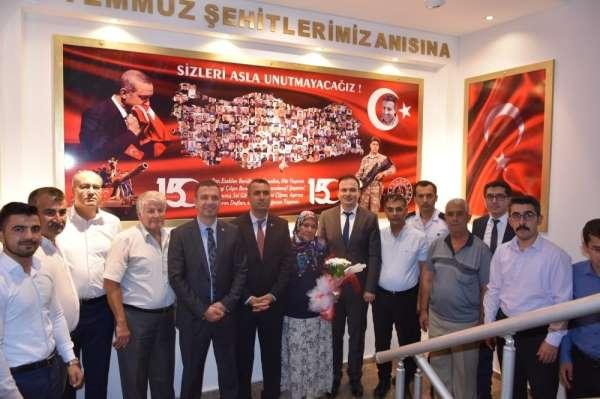 Kozan Adliyesi'nde 15 Temmuz Şehitler Köşesi açıldı