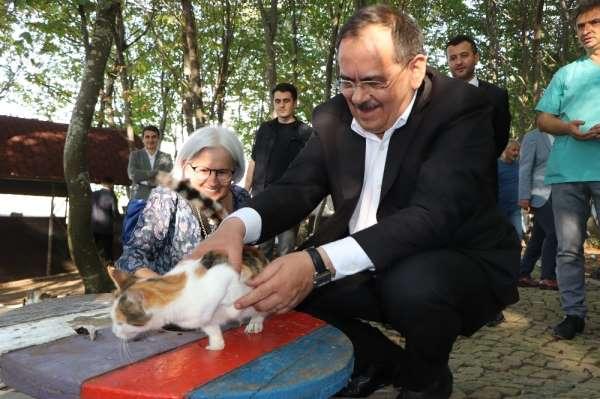 Samsun'a 170 hektarlık yeni hayvanat bahçesi