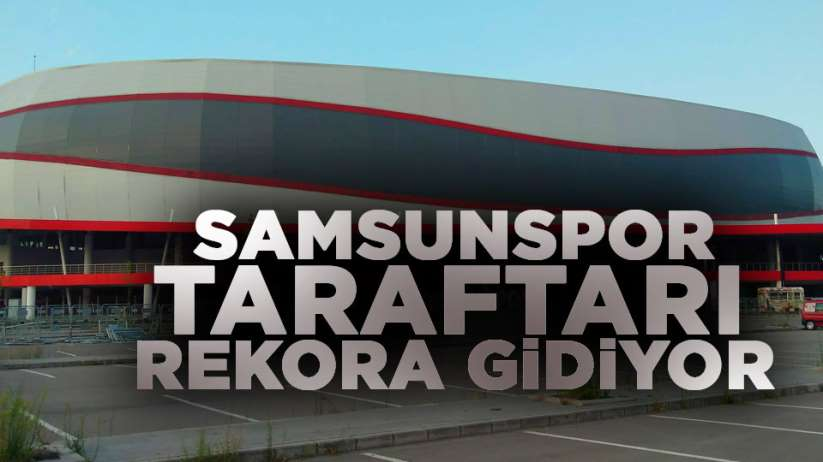Samsunspor Manisa FK maç biletleri kapış kapış