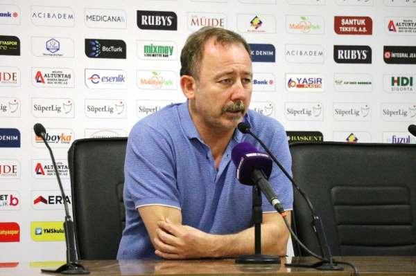 Sergen Yalçın: 'Kazanmaya ihtiyacımız vardı'