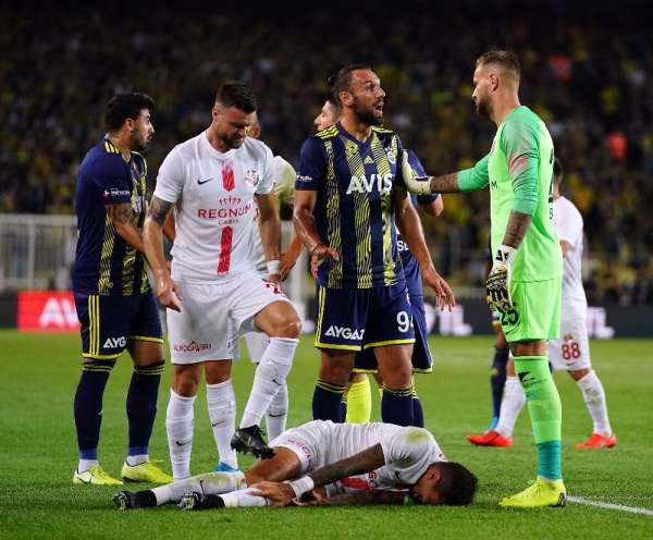Süper Lig: Fenerbahçe: 0 - Antalyaspor: 1 (İlk yarı)