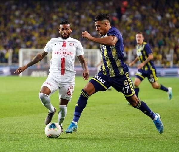 Süper Lig: Fenerbahçe: 0 - Antalyaspor: 1 (Maç sonucu)