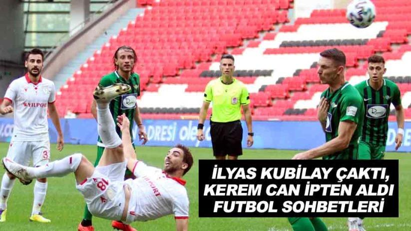 Samsunspor: 1 - Akhisarspor: 0 / İlyas Kubilay Çaktı, Kerem Can İpten Aldı / Futbol Sohbetleri