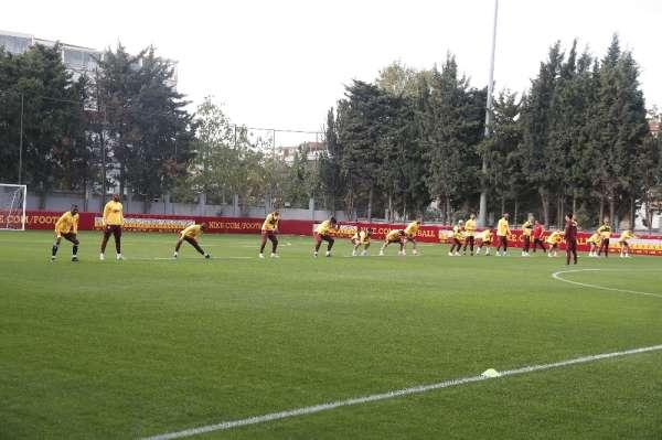 Galatasaray, Real Madrid maçının hazırlıklarını sürdürdü