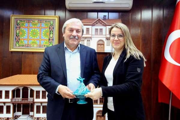 Mimarlık Bölümü Başkanı Doç. Dr. Yaldız'dan Başkan Şahin'e ziyaret