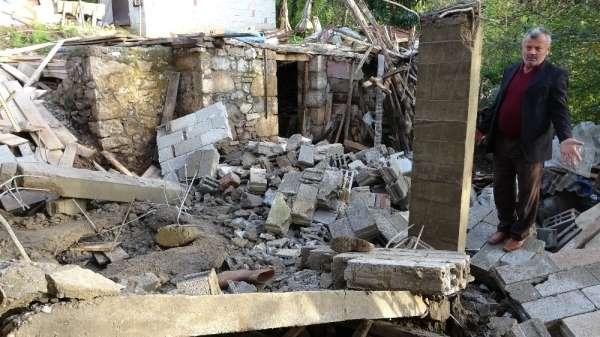 Ordu'da balkon çöktü: 1 ağır yaralı