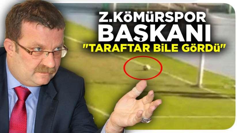 Zonguldak Kömürspor Başkanın'dan Samsunspor maçına açıklama