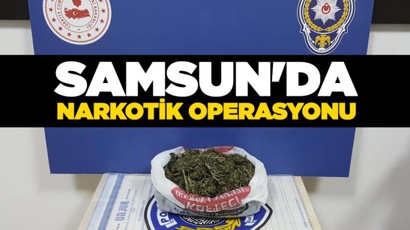 Samsunda narkotik operasyonu