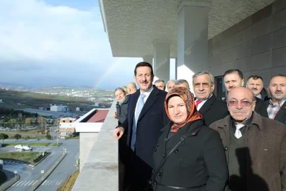 Samsun Haberleri: Başkan Tok Yeni Belediye Hizmet Binasını Tanıttı