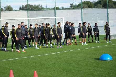 E.Yeni Malatyaspor ikinci yarı hazırlıklarını Antalya Belek'te sürdürüyor