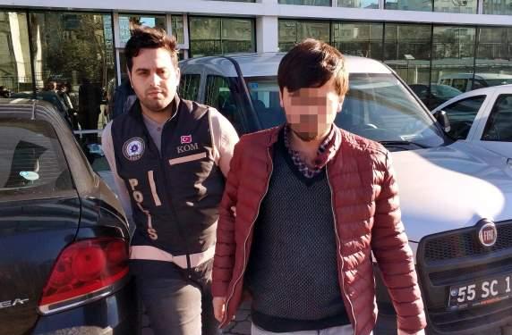 Samsun Haberleri: FETÖ'nün Rize polis mahrem sorumlusu Samsun'da tutuklandı