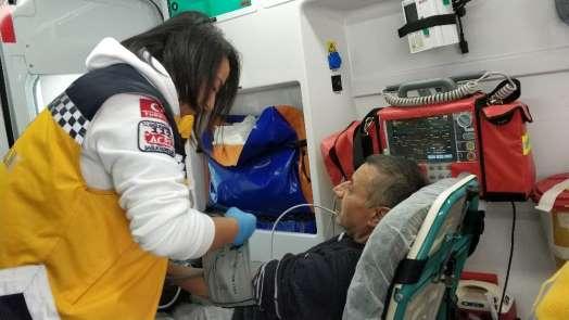 Samsun'da bacadan düşen kıvılcım evde yangın çıkarttı: 2 kişi hastanelik oldu