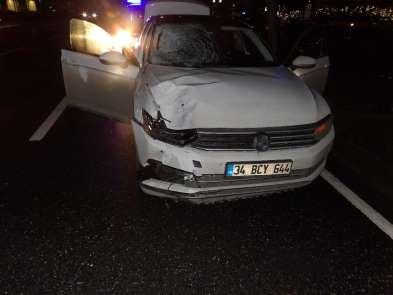 (Özel) İstanbul'da feci kaza: 1 ölü