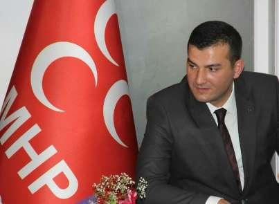 Aydın MHP kahraman şehit polisi unutmadı