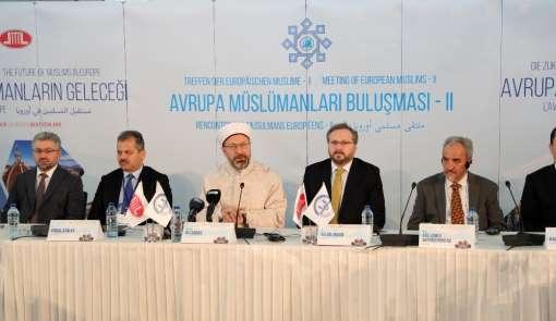 Erbaş: 'Terör örgütleri, İslami kavramları ve insani değerleri istismar etmekted