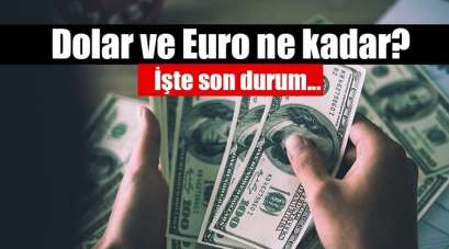 5 Aralık Perşembe Samsun'da Dolar ve Euro ne kadar?