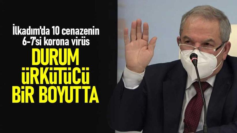 Başkan Demirtaş: İlkadım'da 10 cenazenin 6-7'si korona virüs