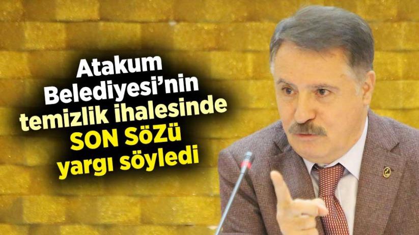 Atakum Belediyesi'nin temizlik ihalesinde son sözü yargı söyledi