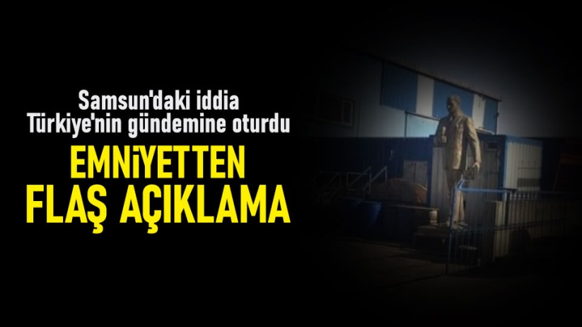 Samsundaki iddia Türkiyenin gündemine oturdu