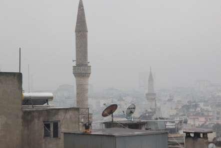 (Özel) Kilis'te yakıtlar hava kirliliğini arttırıyor