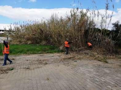 Nazilli Belediyesi temizlik çalışmalarını aralıksız sürdürüyor