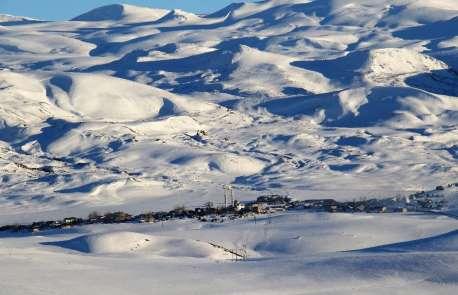 Bingöl'den kar manzaraları