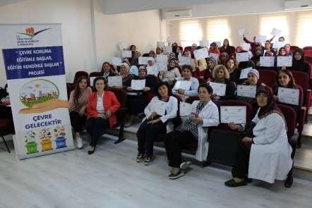 Tokat'ta, 'Çevre Koruma Eğitimle Başlar Eğitim Kendinle Başlar' projesi