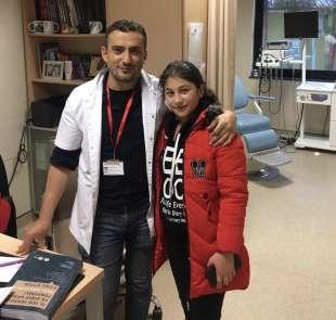 Küçük Valentina Ordu'da sağlığına kavuştu