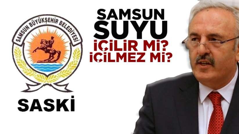 Samsun'da yaşanan su sorunu TBMM'ye taşındı