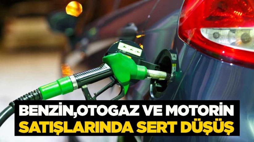 Benzin, otogaz ve motorin satışlarında sert düşüş