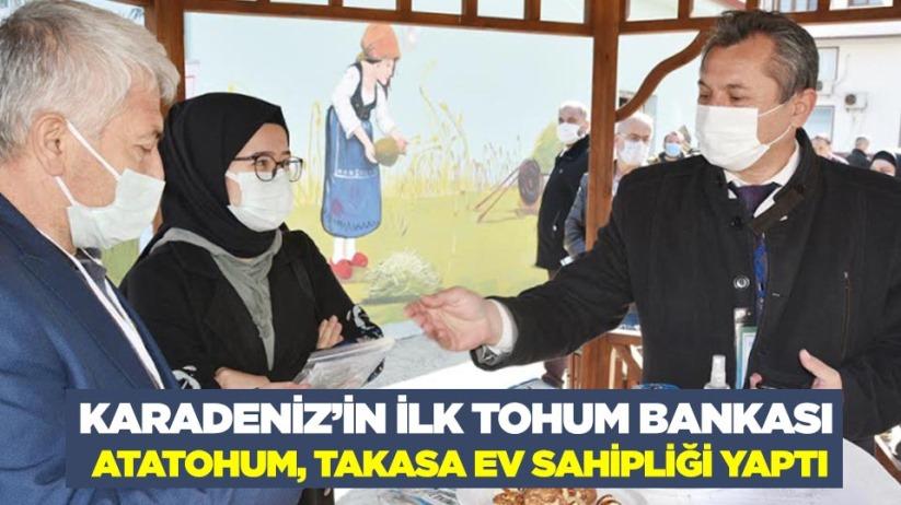 Karadenizin ilk tohum bankası AtaTohum, takasa ev sahipliği yaptı