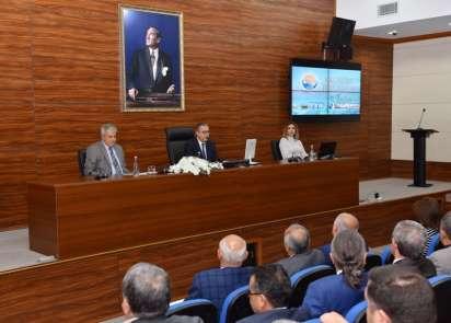 2019 yılı 1. İl Ekonomi Toplantısı, Vali Ali İhsan Su başkanlığında yapıldı