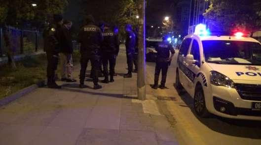 Başkent'te tacizci olduğu iddia edilen şahsa meydan dayağı