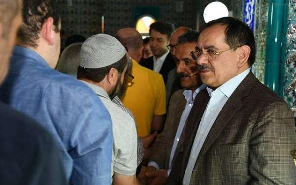 Samsun'da devlet milletle bayramlaştı